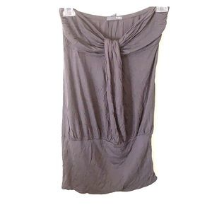 Poetry Gray tube top-M